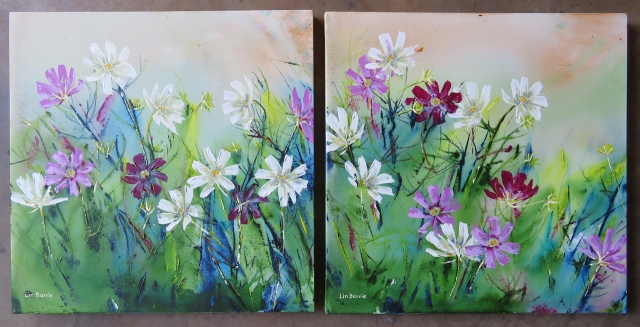 Cosmos diptych, acrylic on stretched canvas, 61 x 61 cm lo res.jpg