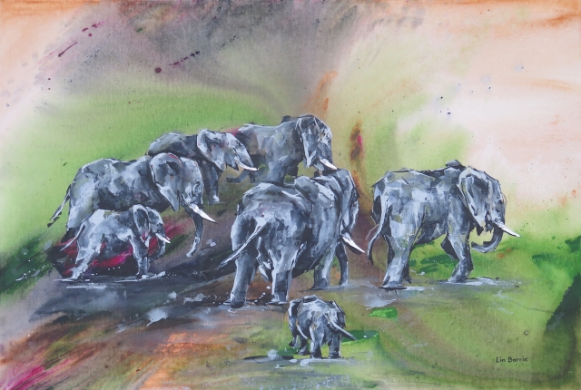 Mahove Cows I, acrylic on canvas board, 2 X 3 feet lo res.jpg