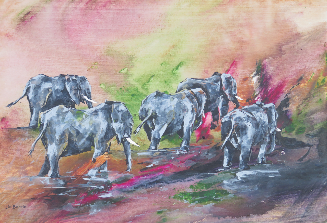 Mahove Cows II, acrylic on canvas board, 2 X 3 feet lo res.jpg