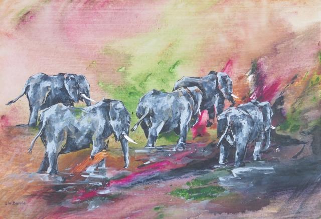 Mahove Cows II, acrylic on canvas board, 2 X 3 feet lo res.jpg
