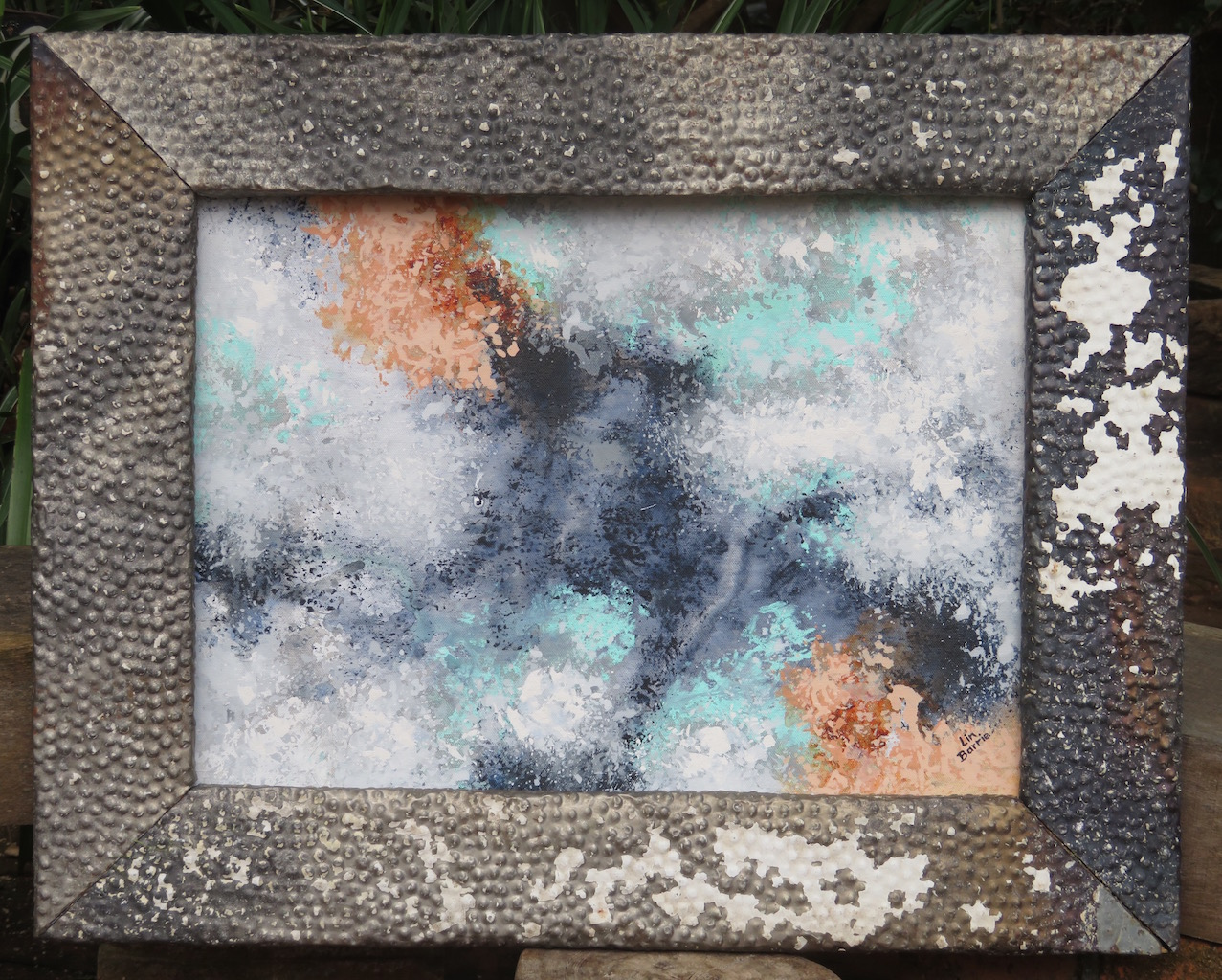 Rose Lichen II, acrylic on loose canvas, 49 x 35cm inner edge of frame lo res.jpg