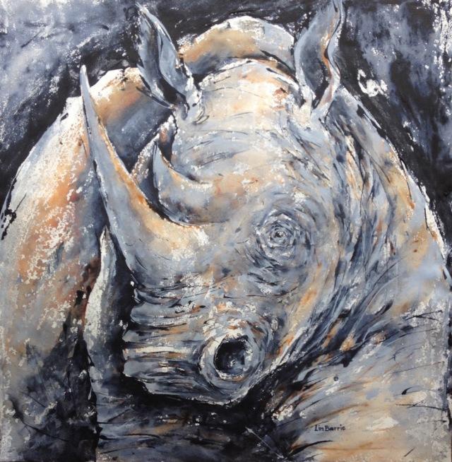 White rhino portrait, acrylic on canvas, 79 x 77 cm lo res .jpg