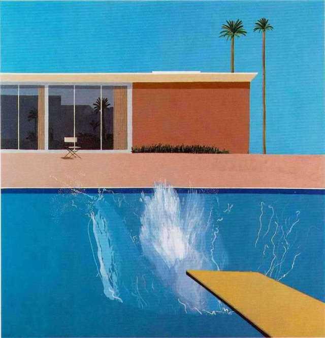 Hockney-A Bigger Splash