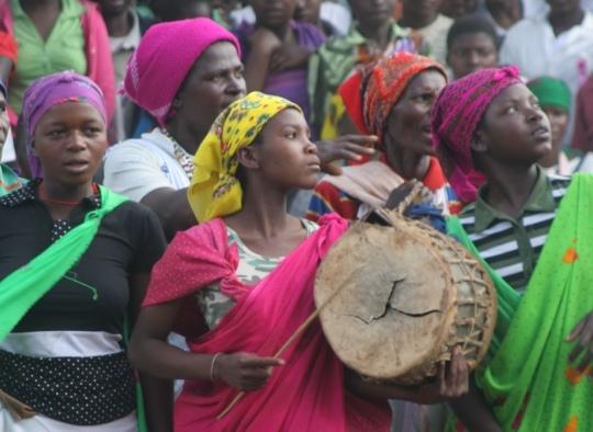 Machangana lady drummer