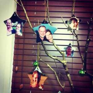 Bianca's christmas tree in Australia