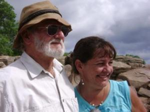 dad and Lorraine in Binga