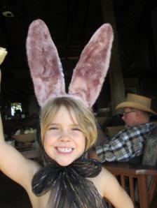 Easter bunny and Kokwane