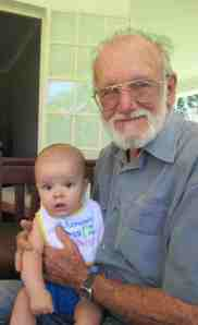Ethan and Gramps