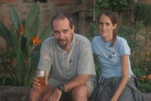 Glenn and Judy