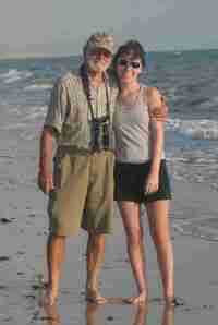 Gramps and Kelli in Mozambique