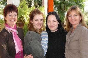 Lyn, Kimberley , Kelli and Lin