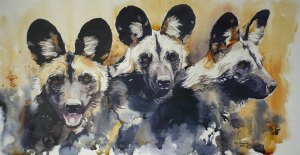 """Painted"" Dogs"