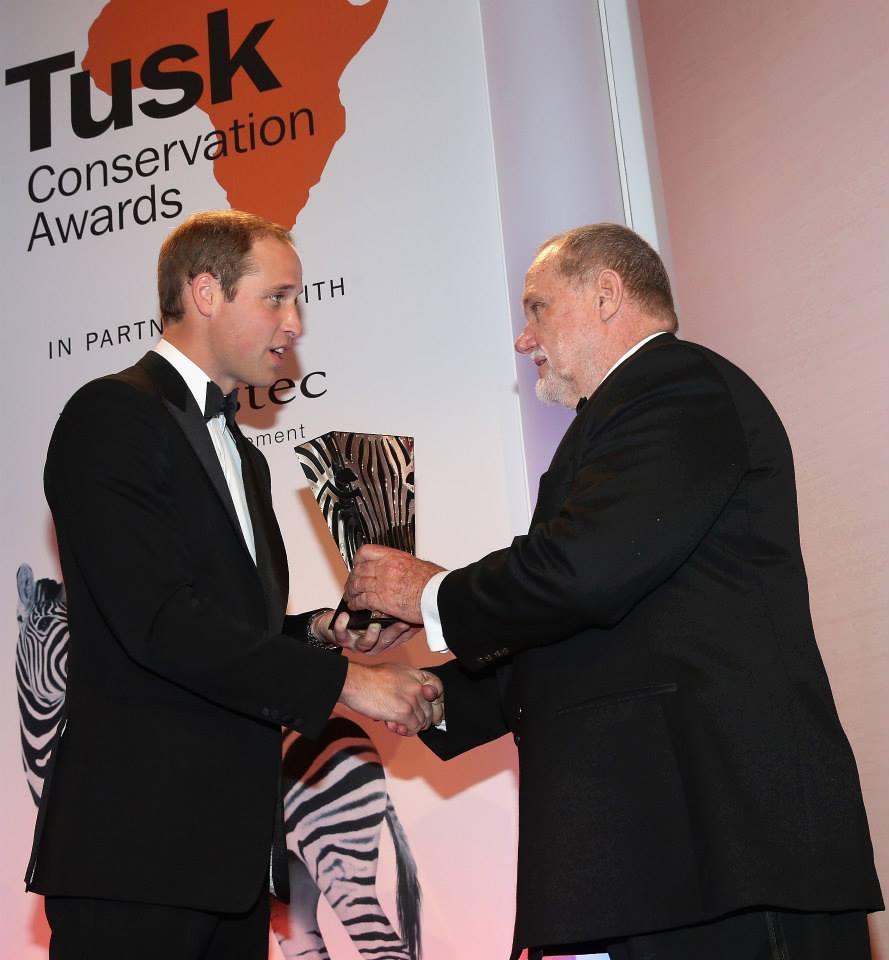 442cfad14ec Clive Stockil – winner of the Tusk Trust Prince William Award ...