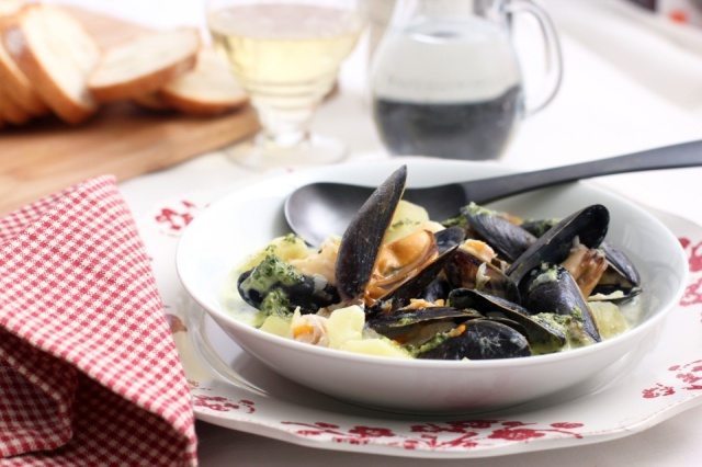 Cullen Skink with Mussels