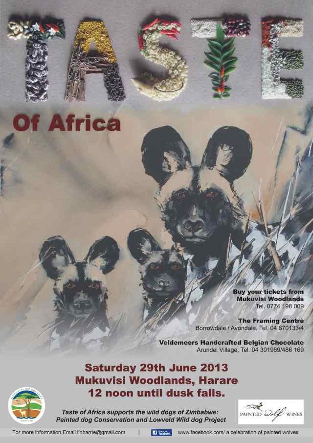 Taste of Africa 2013 -Poster