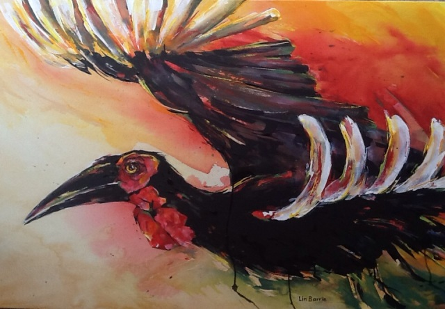 Zimbabwe Bird by Lin Barrie