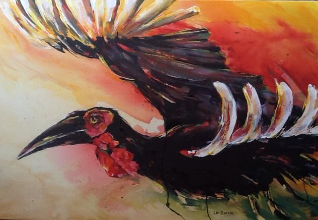 Zimbabwe Bird by Lin Barrie