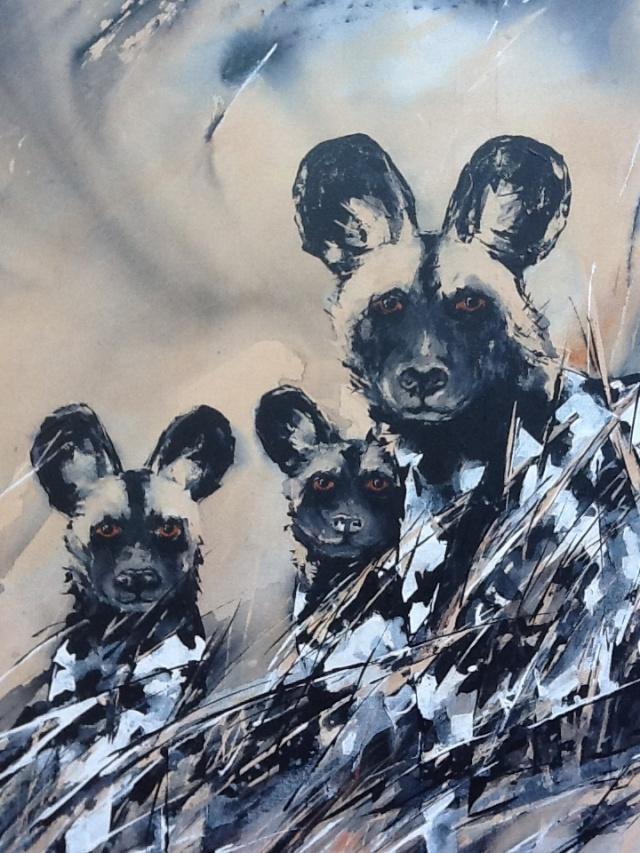 Puppies make fabulous art models!