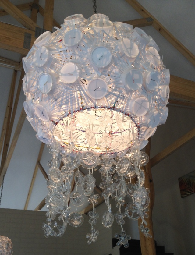 Re-cycled Chandelier