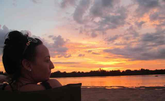 Kelli at Sunset