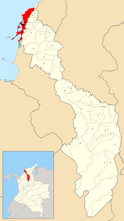 Cartagena map