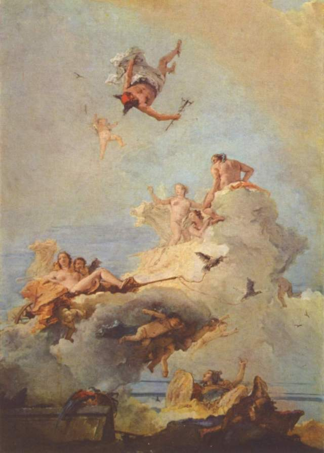 Olympus by Tiepolo