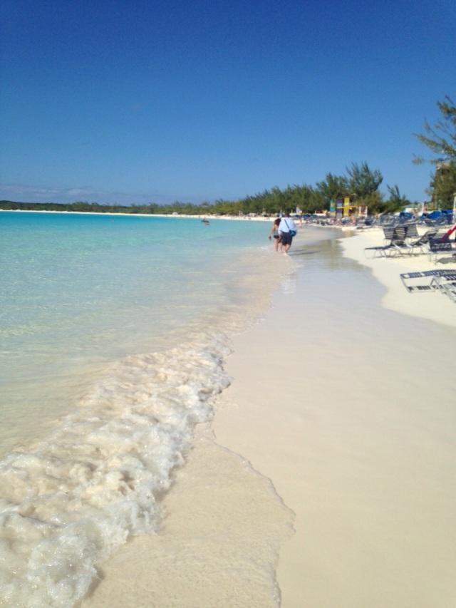 sparkling beaches