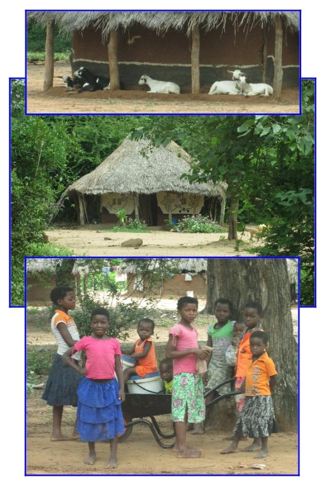 Mahenye village children...