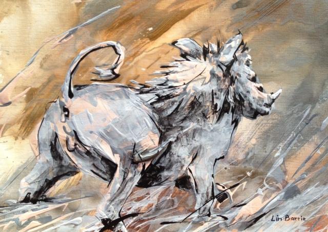 Nguluve the warthog...