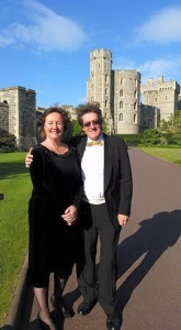 Jeremy and Emma Borg at Windsor Castle