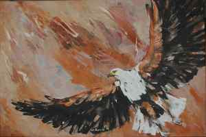 Hungwe, the Fish Eagle..