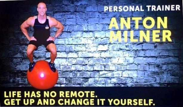 Anton Milner, Personal trainer...