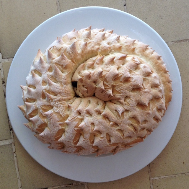 Pangolin bread....