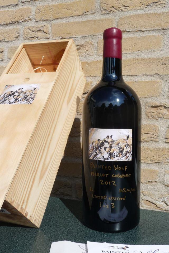 lin barrie wine label