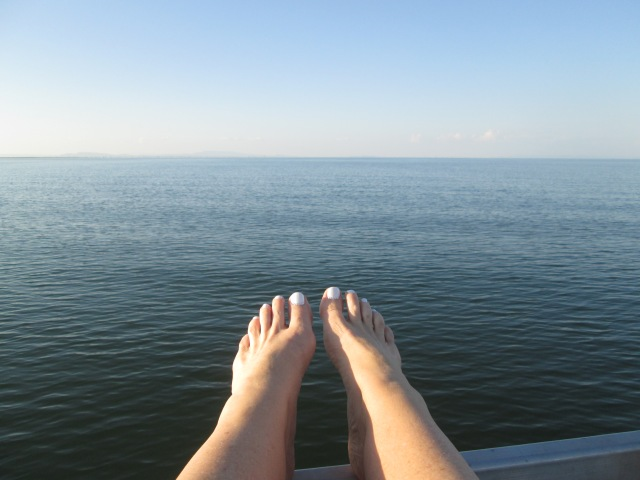 a joy for me to be on the waters of Kariba again...