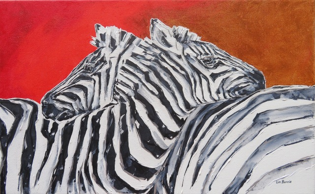 Zebra Sunset, acrylic on stretched canvas, 51 x 82 cm lo res 2.jpg