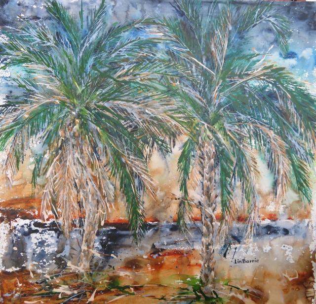 Phoenix reclinata at Chilo, acrylic on loose canvas , 82 x 82 cm lo resjpg.jpg