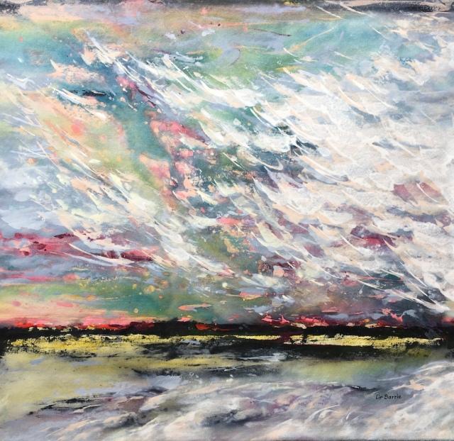 Bushveld Dawn, acrylic on loose canvas, 88 x 90 cm lo res.jpg